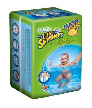 Huggies Little Swimmers S - M  Mayo Bebek Bezi 7 - 15  kg 12 Adet