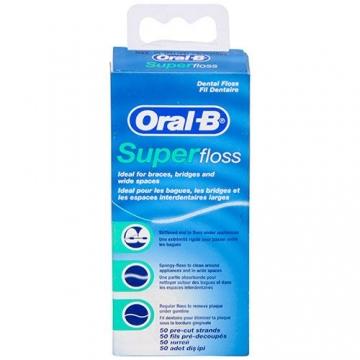 Oral B Süper Floss Diş İpi 50 M