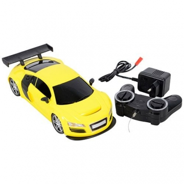 Oyuncak Yarış Arabası Uzaktan Kumandalı Fırtına (Sarı)