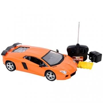 Oyuncak Yarış Arabası Uzaktan Kumandalı Speed Car Turuncu