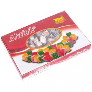 Aktürk Meyveli Çifte Kavrulmuş Lokum 300 gr