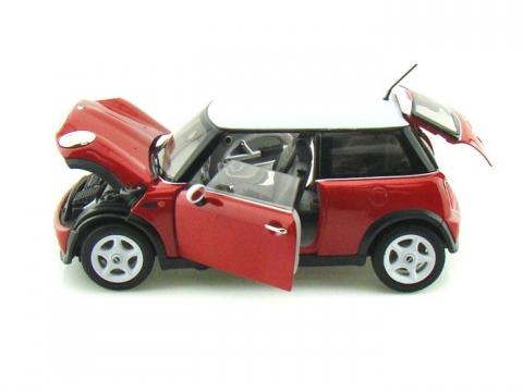 Welly Mini Cooper Model Araba Kırmızı 1:24