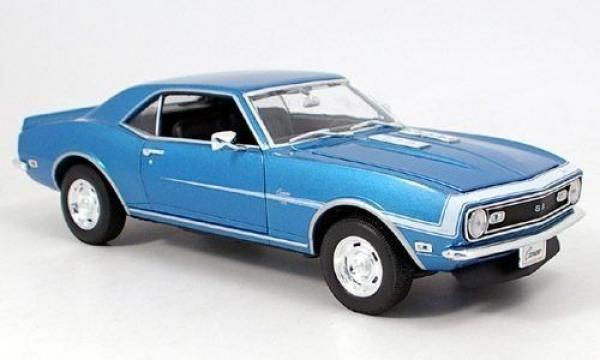Welly 1968 Chevrolet Camaro SS 396 Mavi 1:18