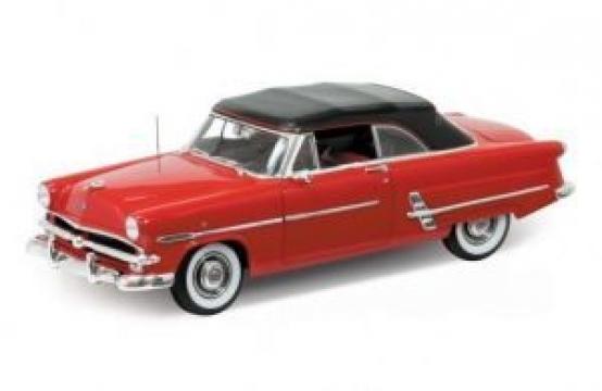 Welly 1953 Ford Crestline Sunliner Kırmızı 1:18