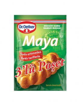 Dr.Oetker Instant Maya 3 lü (3x10gr)