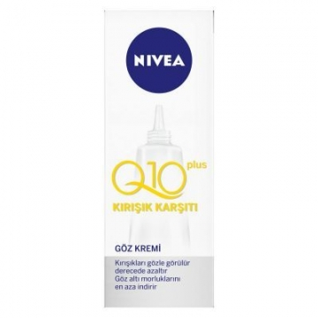 Nivea Q10 Plus Kırışık Karşıtı Göz Kremi 15 ml