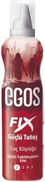 Egos Fıx Güçlü Tutuş Saç Köpüğü 125 ml