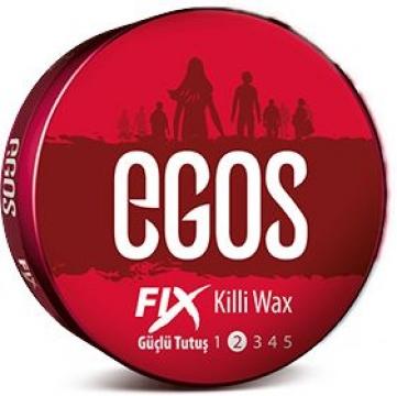Egos Fıx Güçlü Tutuş Killi Wax 100 ml