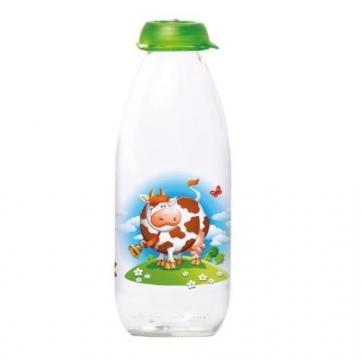 Herevin Milky 111708-000 Desenli Süt Şişesi 1 lt