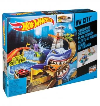 Hot Wheels Renk Değiştiren Araçlar Sharky Oyun Seti