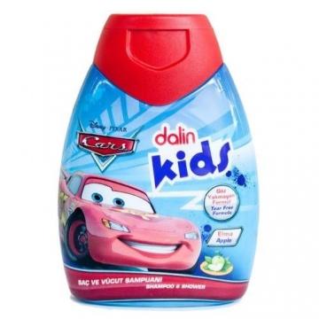 Dalin Kids Cars Elmalı Saç ve Vücut Şampuanı 300 ml