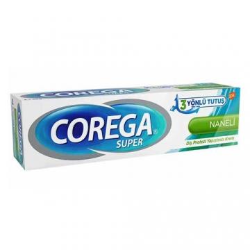 Corega Super 3 Yönlü Tutuş Diş Protezi Yapıştırıcı Krem 40 g