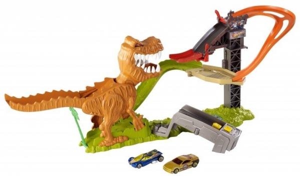 Hot Wheels Çılgın Dinazor T-Rex Oyun Seti