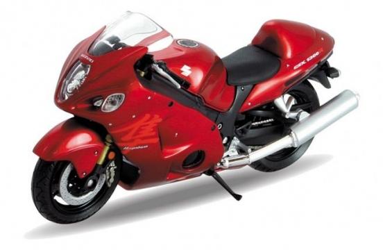 Suzuki Hayabusa 1:18 Model Motorsiklet