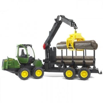 Bruder John Deere 1210E Kütük Yükleme ve Nakliye Aracı 02133