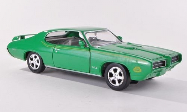 Pontıac GTO Judge 1969 Model Metal Araba 1:24