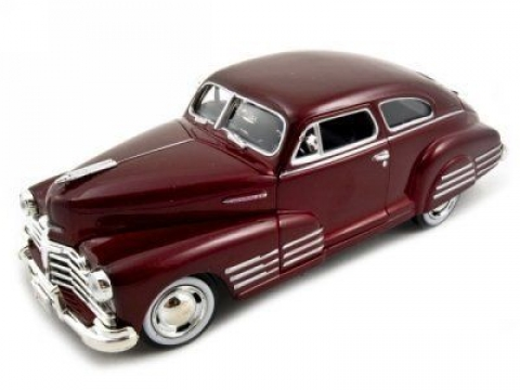 Chevy Aerosedan Fleetline 1948 Model Metal Araba 1:24