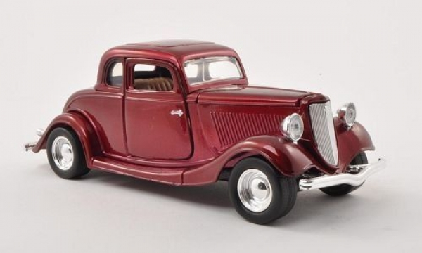 Ford Coupe  1934 Model Metal Araba 1:24