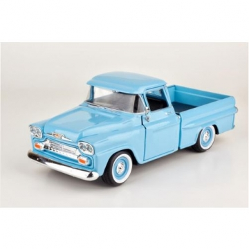 Chevy Apache Fleetside Pickup 1958 Model Metal Araba 1:24