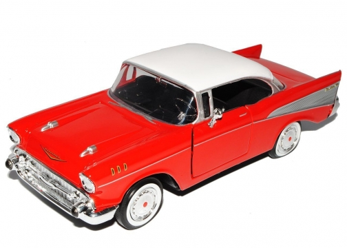 Chevy Bel Air 1957  Model Metal Araba 1:18
