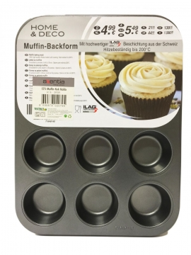 Axentia Muffin Kek Kalıbı