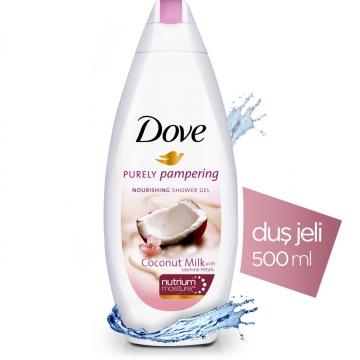 Dove Purely Pampering Nourishing Shower Gel Duş Jeli 500 ml