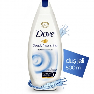 Dove Deeply Nourishing Nourishing Body Wash Duş Jeli 500 ml