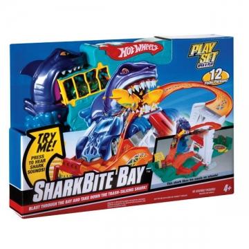 Hot Wheels Çılgın Sharky Bite Oyun Seti