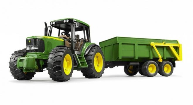 Bruder John Deere 6920 Traktör Ve Römork 02058