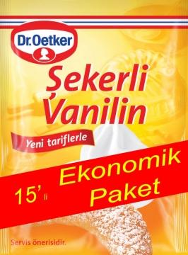 Dr.Oetker Şekerli Vanilin 15 Adet