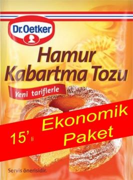 Dr.Oetker Hamur Kabartma Tozu 15 Adet 150 gr