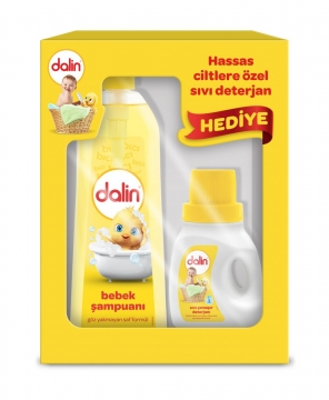 Dalin Bebek Şampuanı 750 ml + Sıvı Çamaşır Deterjanı 300 ml