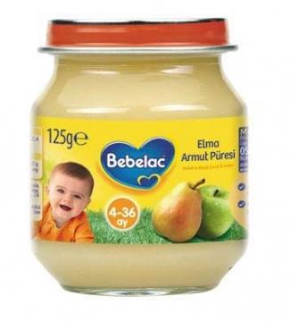Bebelac Kavanoz Maması Havuç Elma Püresi 125 gr