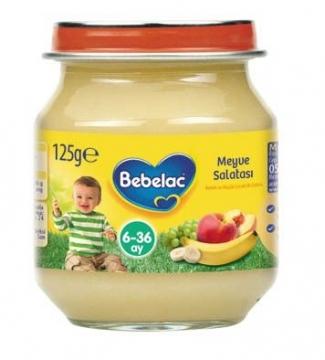Bebelac Kavanoz Maması Meyve Salatası 125 gr
