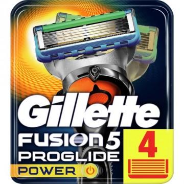 Gillette Fusion ProGlide Power Yedek Tıraş Bıçağı 4'lü