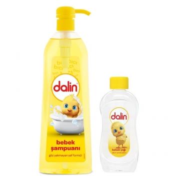 Dalin Bebek Şampuanı 750 ml + Dalin Bebek Yağı 100 ml
