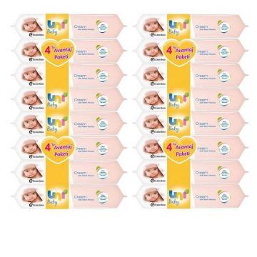 Uni Baby Cream Islak Bebek Havlusu 16 Adet