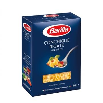 Barilla Conchiglie Rigate Mini Midye Makarna 500 gr