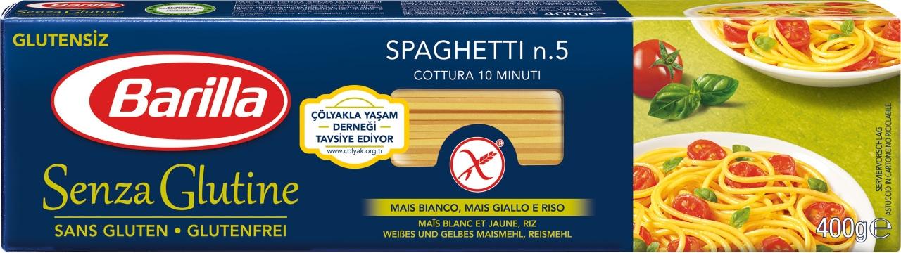 Barilla Spagetti Glutensiz Makarna 400 gr
