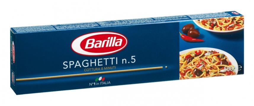 Barilla Spagetti Makarna 500 gr