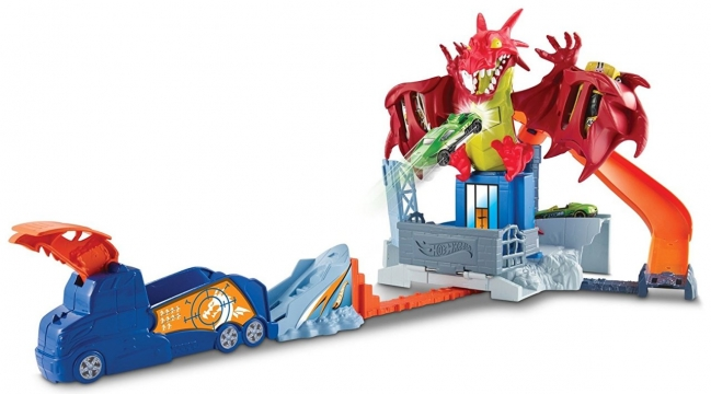Hot Wheels Ejdarha Macerası Dragon Blast Oyun Seti