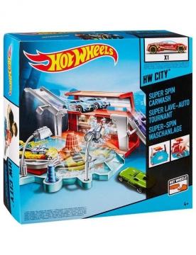 Hot Wheels Süper Araç Yıkama İstasyonu Oyun Seti