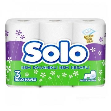 Solo Kağıt Havlu 3 Rulo