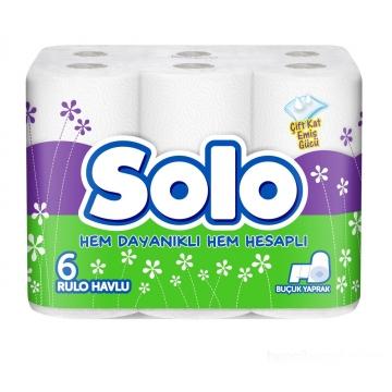 Solo Kağıt Havlu 6 Rulo