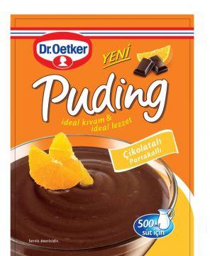 Dr.Oetker Çikolata Portakal Puding 102 gr