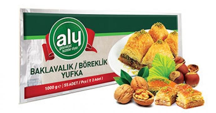 Aly Baklavalık & Böreklik Yufka 500 gr 28 Adet