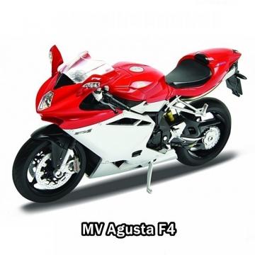 Welly MV Agusta F4 Metal Motosiklet 1:10
