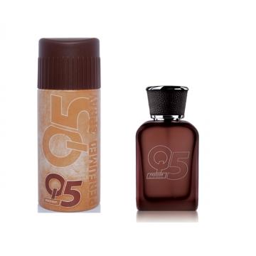 Q5 Freedom Hediye Seti Parfüm 100 ml + Sprey 150 ml