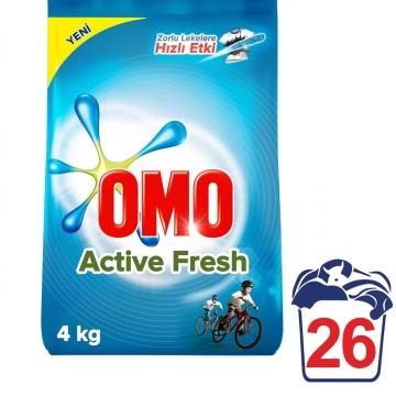 Omo Matik Active Fresh 4 kg 26 Yıkama