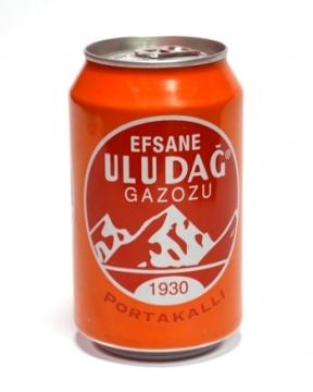 Uludağ Portakal Gazozu 330 ml